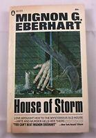 Mystery PB. Mignon G. Eberhart: House of Storm. Popular Library Vintage
