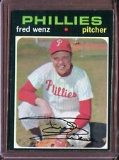 1971 Topps 92 Fred Wenz EX #D112815