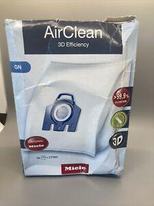 *New* Miele AirClean 3D Efficiency GN 4 Dustbags + 2 Filters           NIB