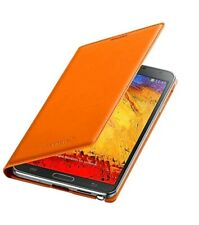 SAMSUNG GALAXY NOTE 3 FLIP CASE - BURNT ORANGE - EF-WN900BOEGWW