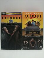 Lot Of 2 Movie VHS Tapes. Tremors And Tremors 2