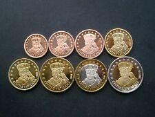 Vaticano 2001 Papa Giovanni Paolo II serie 8 monete FS (1cent-2euro) in blister