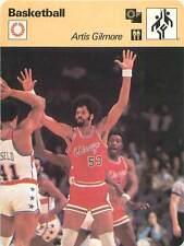 FICHE CARD: Artis Gilmore USA Joueur Pivot Center Basketball 1970s