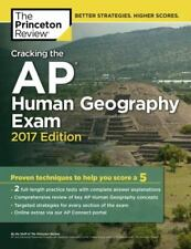 College Test Preparation Ser.: Cracking the Ap Human Geography Exam, 2017.