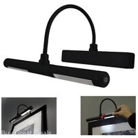 Wall Picture Frame Light Wireless LED Black Display Art Painting Lamp Dimmer