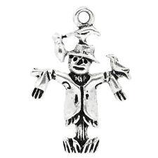 GS 30 Antik Silber Vogelscheuche Charms Anhänger für Halskette Armband 25x17mm