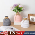 Plastic Nordic Style Creative Modern Multicolor Flower Vase For Home Decoration