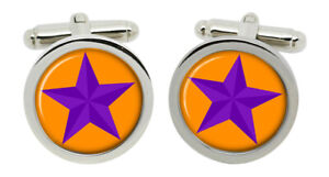 The Orange Order Cufflinks in Chrome Box
