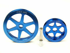 Blue Overdrive Pulley Set For 94-01 Integra 1.8L 99-00 Civic Si 1.6L By OBX