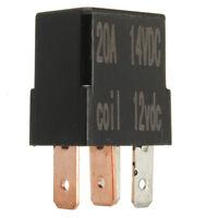 Micro relè 4 PIN 12v 20a + Mini normalmente aperto 20 amp auto VAN barca