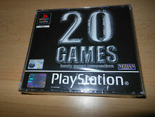 20 Games Family games Compendium - PlayStation 1 PS1 - New Sealed PAL