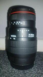 Sigma 70-300mm f/4-5.6 APO DG Macro Canon EF Lens