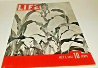 July 5, 1937 LIFE Magazine BASTILLE Artist RENOIR. old 30s ads + FREE SHIPPING 7