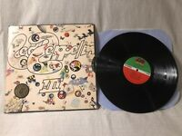 Led Zeppelin III LP Record Album Vinyl Atlantic SD 7201 die cut with wheel VG