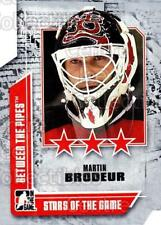 2008-09 Between The Pipes #66 Martin Brodeur