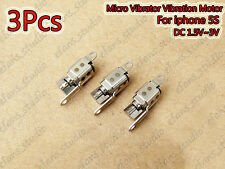 3PCS DC 3V Micro Vibrator Motor Vibration Replacement Part for Apple iPhone 5S
