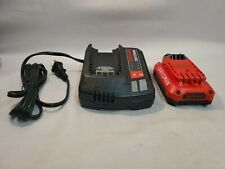 Craftsman V20 Cmcb102 Cmcb202 2.0Ah 20 Volt Battery & Charger Combo New