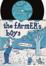Farmer's Boy ORIG UK PS 45 Whatever is he like EX '82 Backs NCH001 New wave