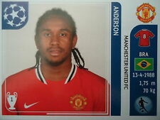 Panini 148 anderson manchester united uefa cl 2011/12