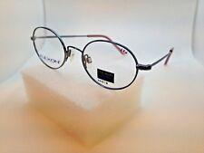 NOS Marchon Flexon Kids 104 Eyeglasses Frames Full Rim Blue Jeans 44-18-130