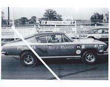 "1960s Drag Racing-Sox & Martin Hemi Cuda vs ""DRAGON LADY""Cecil County Dragoway"