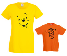 WINNIE the Pooh & TIGGER  Ladies & Kid's T Shirts Ideal Christmas present Gift