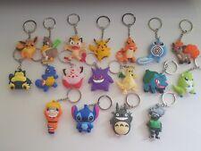 Pokemon Porte Clé - KEYCHAIN Anniversaire / Cadeau - Sasuke Naruto Totoro Stitch