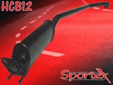 "Sportex Honda Civic Type R performance exhaust resonated 2.5"" EP3 2001-2006"
