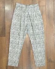NEW Vivienne Westwood ANGLOMANIA New Brigadier Trousers Silk UK6-10 / US 2-6 NWT