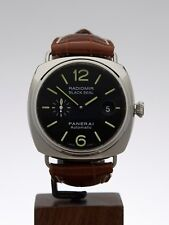 PANERAI RADIOMIR BLACK SEAL STAINLESS STEEL WATCH PAM00287 45MM W3352