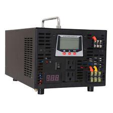 2500W Pure Sine Wave Inverter Hybrid 12//24V to 120V/220V 30A Solar Controller