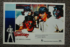 The Warriors #2 Lobby Card Movie Poster