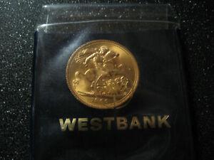 Sovereign 1966 Goldmünze 1 Pfund Sterling 7,32 gr. Gold Feingehalt