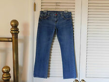 "LEE JEANS ""Cropped Capri's Lowrise 31 Blue Denim   C"