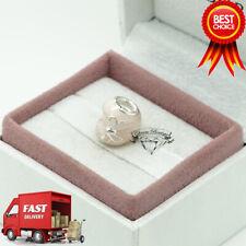 Pandora, Pink Bow & Lace Heart, Love, Bracelet Charm 792044ENMX