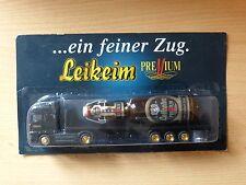 Modellino autocarro per birra Rimorchio trasporto MAN Leikeim Premium MK 3