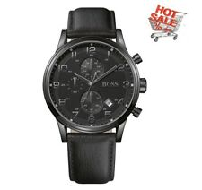 Hugo Boss Classic Aeroliner Chronograph All Black Watch 1512567