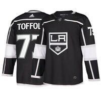 Tyler Toffoli Los Angeles Kings NHL Adidas Black Authentic On-Ice Pro Jersey