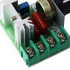 220V 2000W SCR Spannungsregler Drehzahlsteller Volt Regler Regulator PE