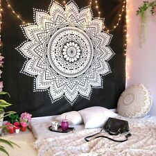 Home Decor Indian 100%Cotton Tapestry Wall Hanging Bohemian Hippie Mandala Throw