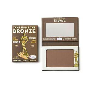 Take Home the Bronze Anti-Orange Bronzer TheBalm Cosmetics Greg (Dark)sun-kissed