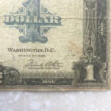 Usa 1923 One Dollar Silver Certificate Large Size Note A62221238E Us Paper Money