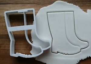 Wellie Boots Pair Cookie Cutter Biscuit Dough Pastry Fondant 3 sizes Welly Boot