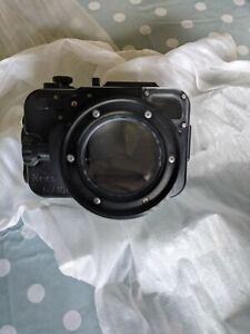 Recsea underwater waterproof camera case / housing - Sony Rx100 / Rx100 Ii