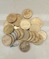 30 pcs COIN NEW Half Sheqel 1/2 Shekel Israel Israeli COINS Jewish Money lyre