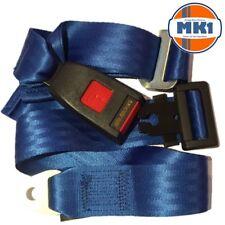 Mk1 Classic Car Parts Posteriore Statica 2 punti cintura subaddominale Cintura Kit Blu