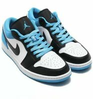 Nike Air Jordan 1 Low SE (SIZES 9-14) CK3022-004 Black/White-Laser Blue