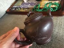 Antique Chinese Clay Teapot Yixing Artist Marks Rare