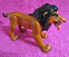 Mattel The Lion King Fighting Action Scar Push Button Figure 6""