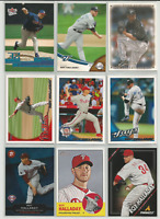 2003-2013 Roy Halladay Mixed Lot 9 Different Cards Blue Jays Phillies